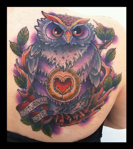 Brent Olson - Nocturnal love owl